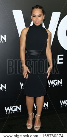 LOS ANGELES - DEC 13:  Amirah Vann at the WGN America's