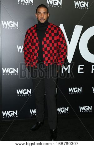 LOS ANGELES - DEC 13:  Alano Miller at the WGN America's