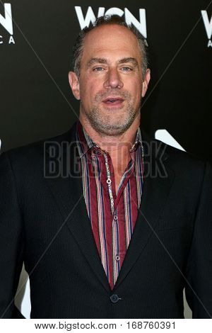 LOS ANGELES - DEC 13:  Christopher Meloni at the WGN America's