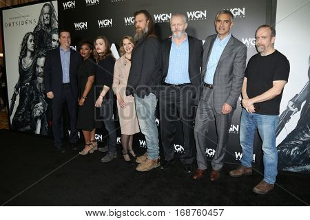 LOS ANGELES - DEC 13:  Paul Giamatti, Outsiders Group at the WGN America's