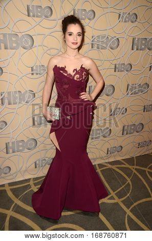 LOS ANGELES - JAN 8:  Vanessa Marano at the HBO Golden Globes After-Party at Circa 55 at Beverly Hilton Hotel on January 8, 2017 in Beverly Hills, CA