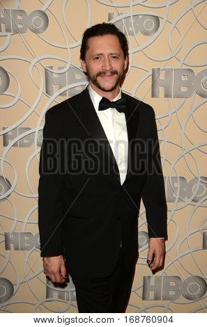 LOS ANGELES - JAN 8:  Clifton Collins Jr at the HBO Golden Globes After-Party at Circa 55 at Beverly Hilton Hotel on January 8, 2017 in Beverly Hills, CA
