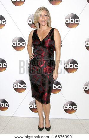 LOS ANGELES - JAN 10:  Laura Wright at the Disney/ABC TV TCA Winter 2017 Party at Langham Hotel on January 10, 2017 in Pasadena, CA