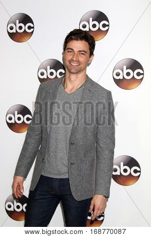 LOS ANGELES - JAN 10:  Matt Cohen at the Disney/ABC TV TCA Winter 2017 Party at Langham Hotel on January 10, 2017 in Pasadena, CA
