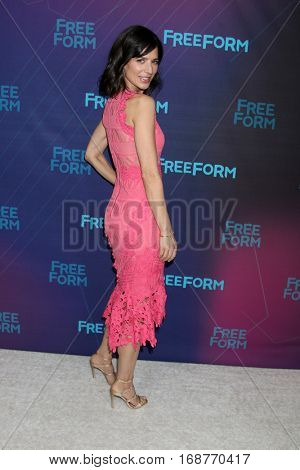 LOS ANGELES - JAN 10:  Perrey Reeves at the Disney/ABC TV TCA Winter 2017 Party at Langham Hotel on January 10, 2017 in Pasadena, CA
