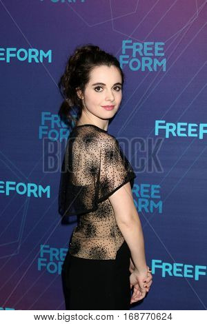 LOS ANGELES - JAN 10:  Vanessa Marano at the Disney/ABC TV TCA Winter 2017 Party at Langham Hotel on January 10, 2017 in Pasadena, CA