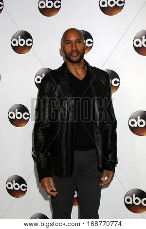 LOS ANGELES - JAN 10:  Henry Rollins at the Disney/ABC TV TCA Winter 2017 Party at Langham Hotel on January 10, 2017 in Pasadena, CA