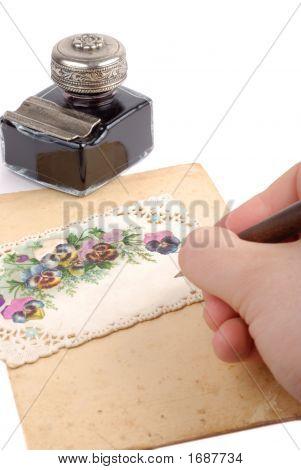 Writing Postacard