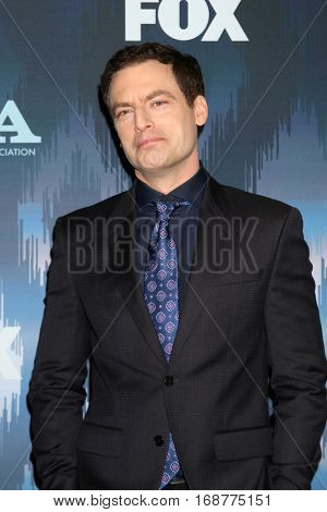 LOS ANGELES - JAN 11:  Justin Kirk at the FOX TV TCA Winter 2017 All-Star Party at Langham Hotel on January 11, 2017 in Pasadena, CA