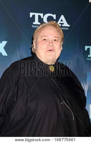 LOS ANGELES - JAN 11:  Louie Anderson at the FOX TV TCA Winter 2017 All-Star Party at Langham Hotel on January 11, 2017 in Pasadena, CA