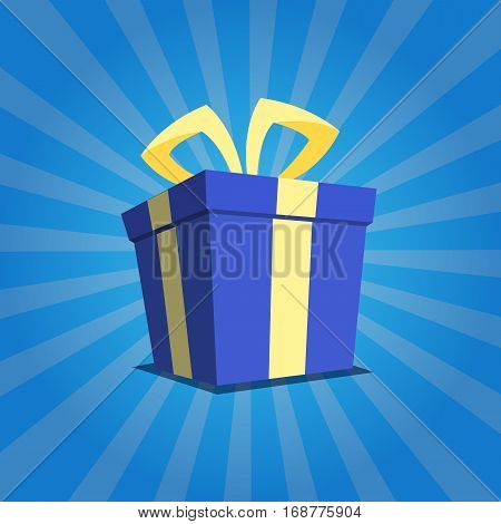 Colorfulful Gift Box With Ribbon Packaging In Vector Format