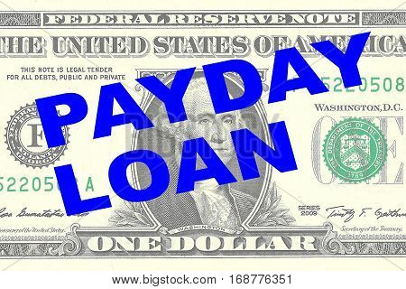 Payday Loan - Financial Concept