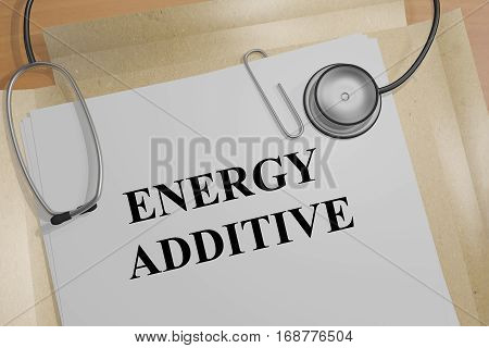 Energy Additive - Medical Concept