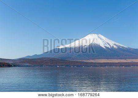 Mount Fuji at Lake Yamanaka