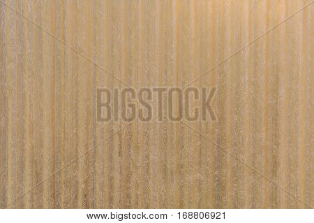 Abstract Old Polycarbonate Striped Of Roof For Background
