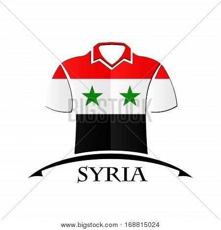 shirts icon made from the flag of Syria