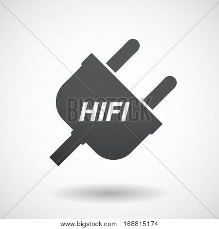 Isolated Plug With    The Text Hifi