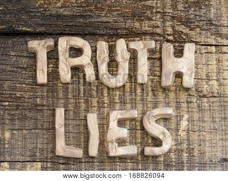 True or Lies Concept