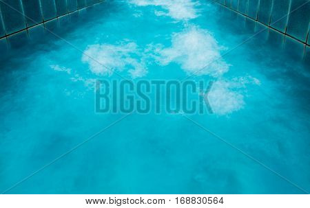 Texture Bubbles of water in the pool