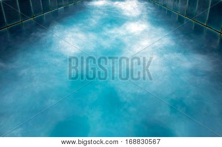 Texture of Bubbles of water in the pool