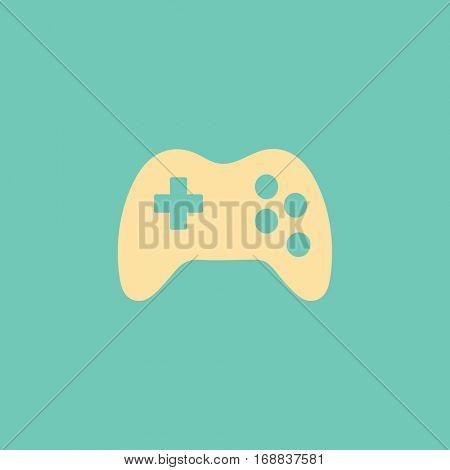 Vector flat Gaming Joystick Icon