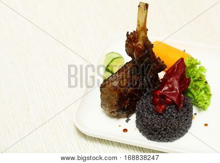Roasted Red Beef Ribs