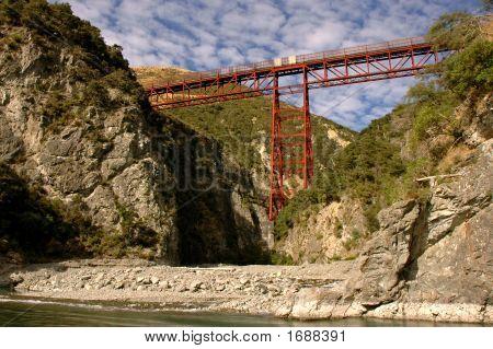 Waimakariri Gorge Railway Bridge