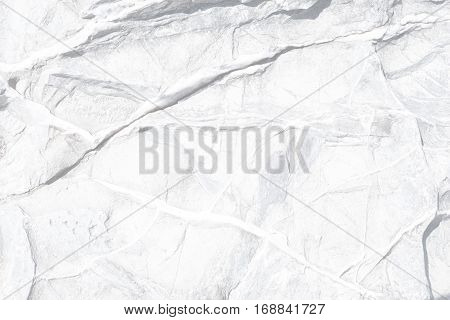 Natural Texture Of White With A Pattern Of Fractures
