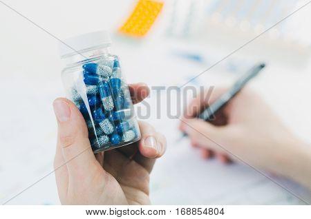 Doctor Prescribes Pills