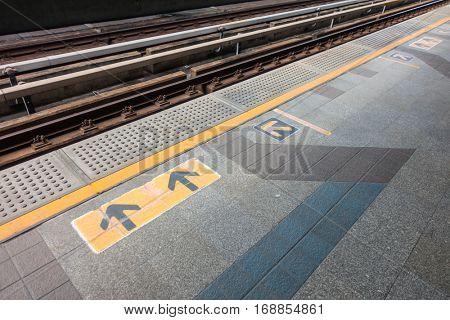 Electrical railway train station