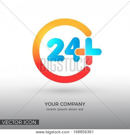 Twenty-four Hours MEDICAL, LOGO / ICON