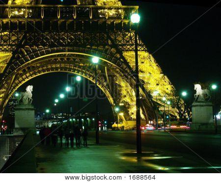 Eiffel Tower Walk