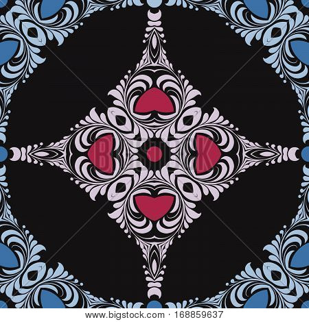 Ornament Pattern Vector Tile