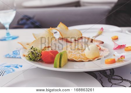 Pike Caviar With Toast Of Toasted Bread And Butter