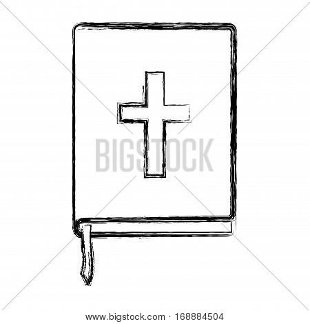 Holy bible book icon vector illustration graphic design
