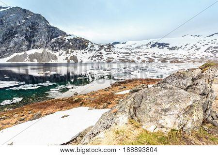 Djupvatnet Lake, Norway