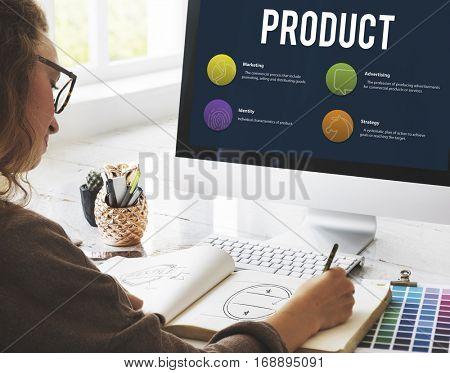 Business Product Promotion Design Concept