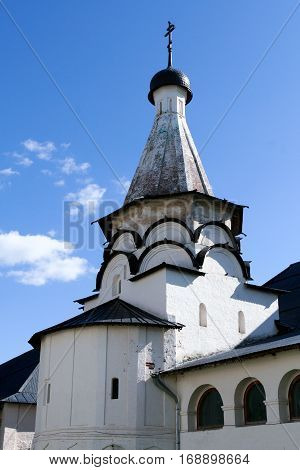 Tent of the Assumption Refectory Church of the Saviour Monastery of St. Euthymius, Russia, Suzdal