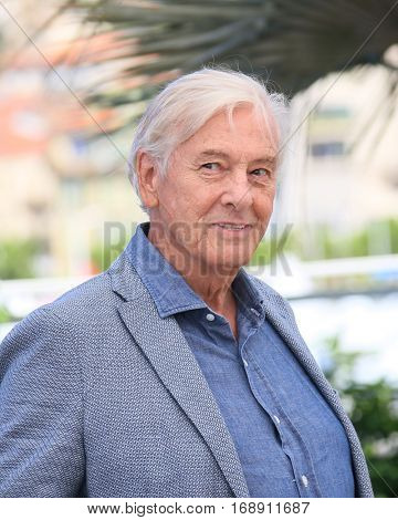 CANNES, FRANCE - MAY 21: Paul Verhoeven attends the 'Elle' Photocall during the 69th annual Cannes Film Festival at the Palais des Festivals on May 21, 2016 in Cannes, France.