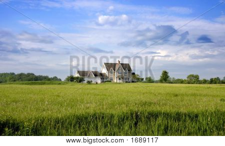 Country Home With Land