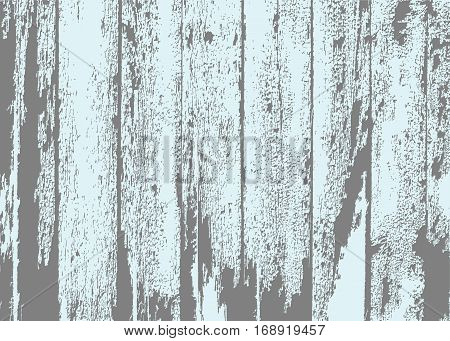 Old wooden vertical planks texture for your design. Shabby background. Vector natural materials.