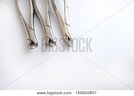 Dental Pliers White Background