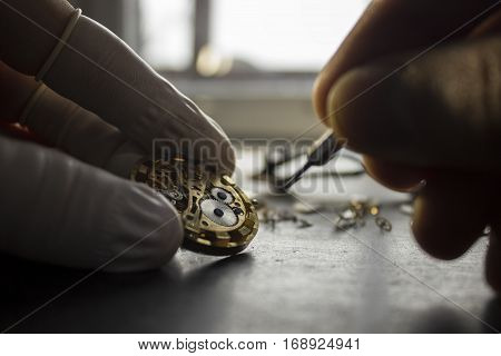 watch, repair, mechanical, time, background, clock, vintage, detail, watchmaker, gear, minute, business, white, old, fixing, broken, object, spring, technology, wrist, metal, antique, maker, wristwatch, accuracy, tool, occupation, inside, hour, screw, poc poster