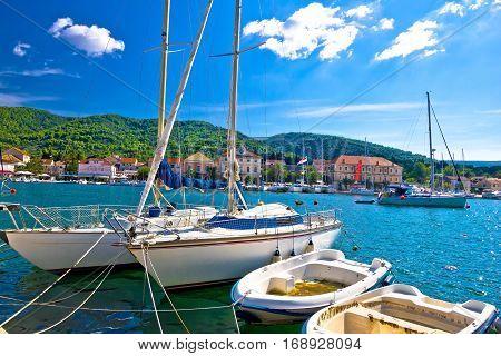 Stari Grad On Hvar Island Sailing Destination