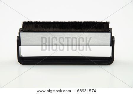 Vinyl record antistatic carbon fiber brush cleaner