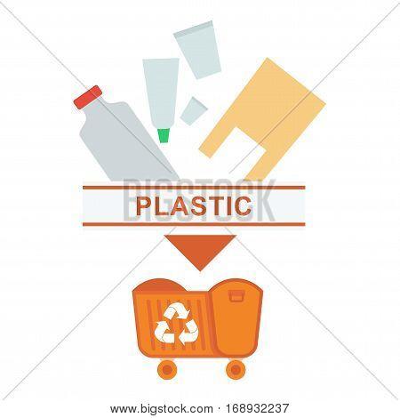 Sorted Garbage Plastic