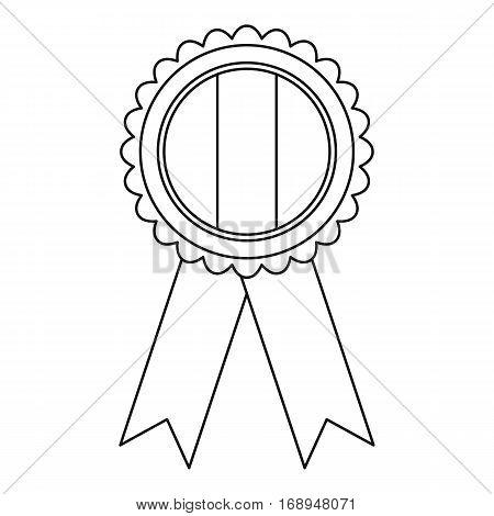 Ireland emblem icon. Outline illustration of ireland emblem vector icon for web