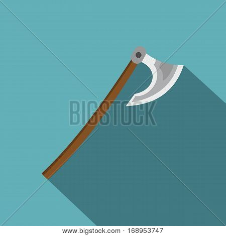 Axe icon. Flat illustration of axe vector icon for web