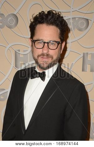 LOS ANGELES - JAN 8:  JJ Abrams at the HBO Golden Globes After-Party at Circa 55 at Beverly Hilton Hotel on January 8, 2017 in Beverly Hills, CA