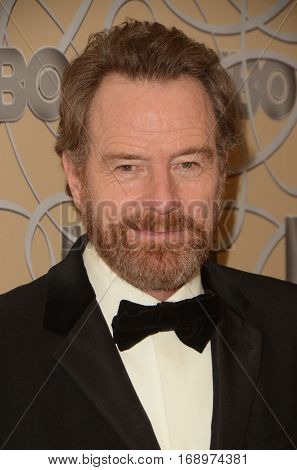 LOS ANGELES - JAN 8:  Bryan Cranston at the HBO Golden Globes After-Party at Circa 55 at Beverly Hilton Hotel on January 8, 2017 in Beverly Hills, CA